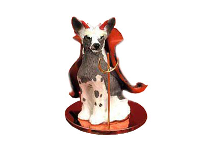 "Елочная игрушка ""Сhinese Crested Dog Devil"""