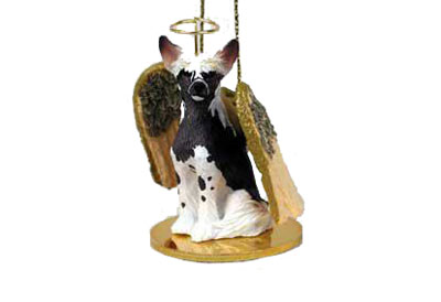 "Елочная игрушка ""Сhinese Crested Dog Angel"""