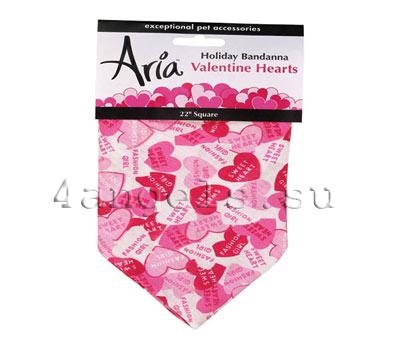 Bandana Valentine Hearts