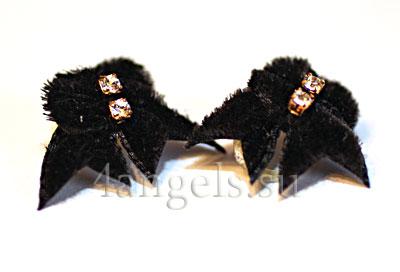 """Банты (коллекция """"Maltese Double Black Velvet"""")"""