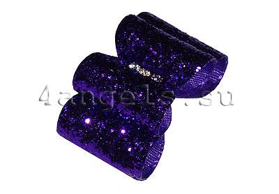 """Бант (коллекция """"Glitz Purple"""")"""
