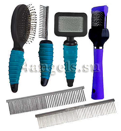 Brush & Comb Grooming Kit