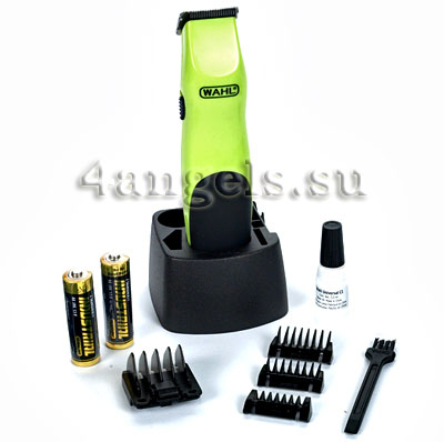 Wahl Trimmer Electric Green