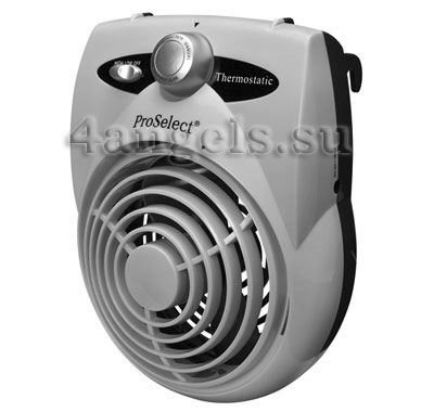 Thermostatic Crate Fan (grey)